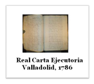 Real carta ejecutoria