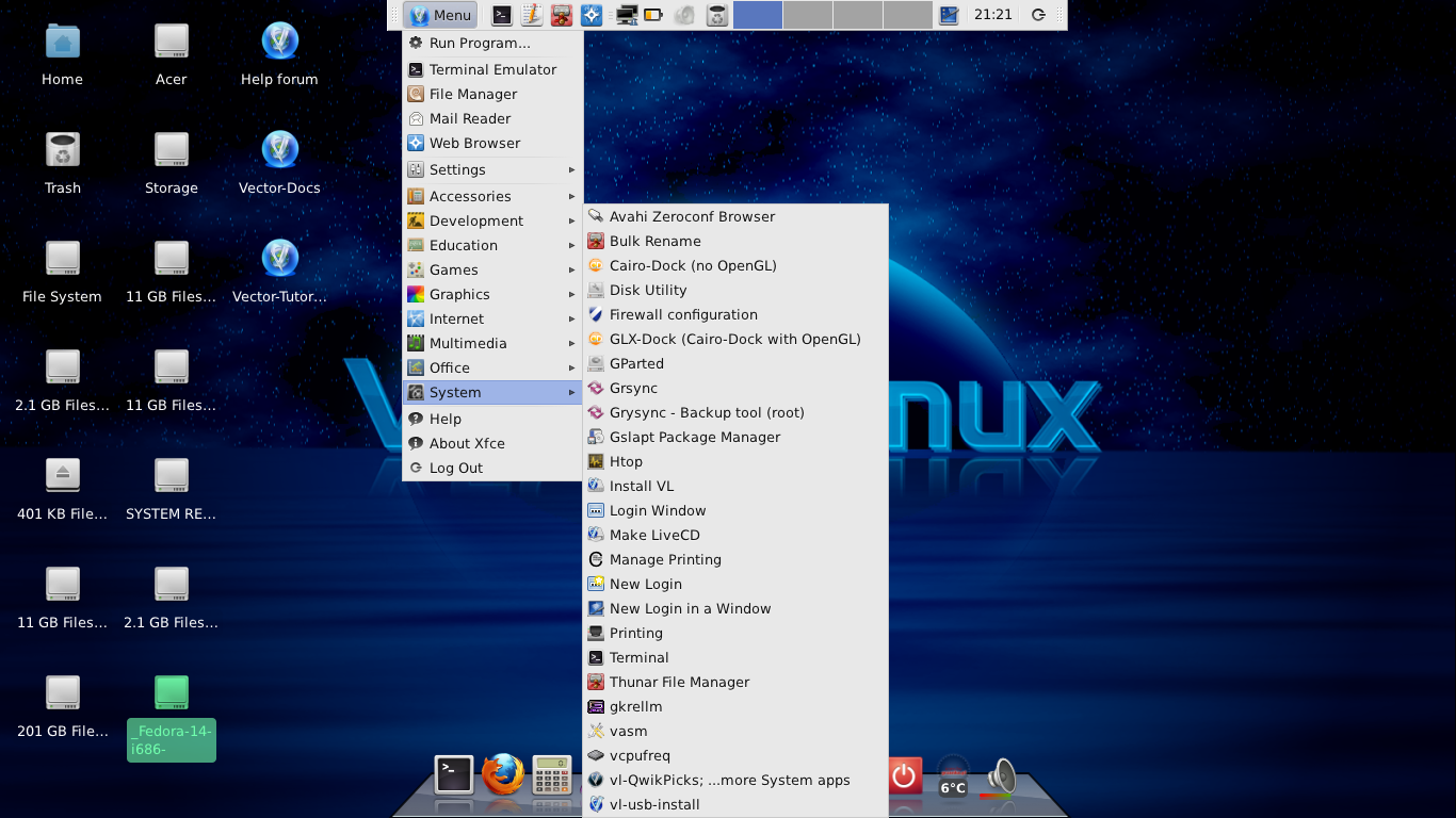 Linux, BSD, and everything else   : Quick Look at VectorLinux 7 0 Final