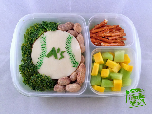 Baseball bento lunch