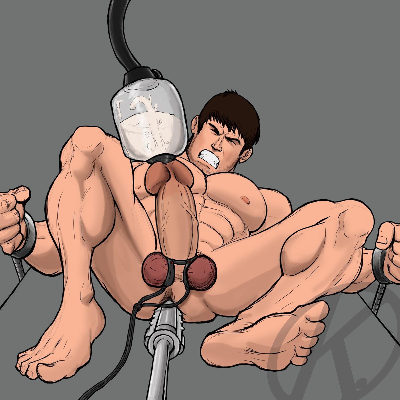 Gay milking blog