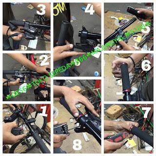 Cara Bongkar Pasang Hand Grip Sepeda