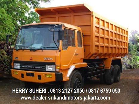 kredit mobil dump truck fuso 2020, kredit dp rendah fuso dump truck 2020
