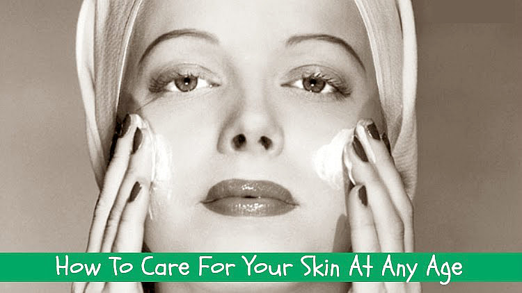 A Vintage Nerd, Vintage Blog, Beauty Products for Aging, How To Care For Your Skin At any Age, Beauty Recommendations