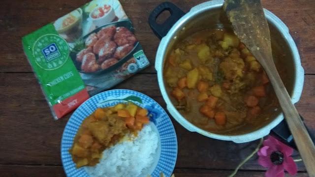 Chicken Kare Rice