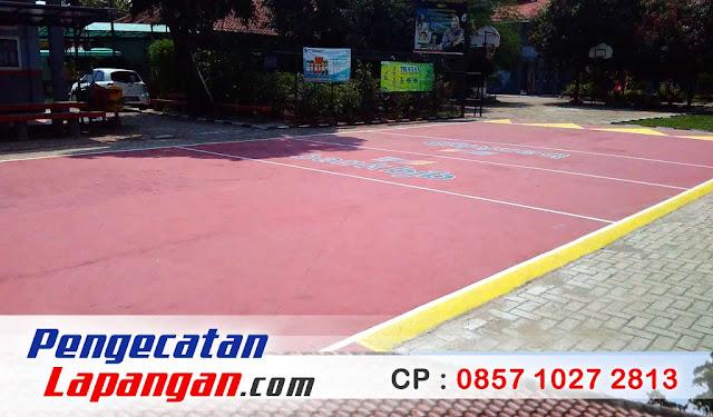 Cat Lantai Lapangan, Lapangan Basket, Arena Basket