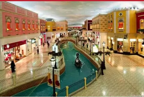 Inside Villagio Mall in Qatar: goods from Saudi Arabia, Egypt, UAE banned