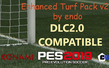 Turf Pack V2 | Update | DLC2.0 | PES2019 | PC | By Endo