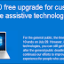 Take advantage of the free Windows 10 upgrade for Assistive Technology users