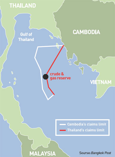 Oil Gas And Improving Thai Cambodian Relations
