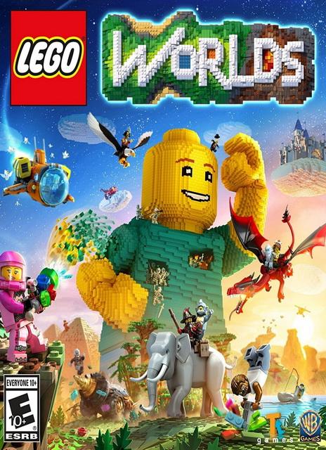 Lego Worlds - Monster