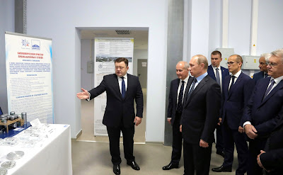 Vladimir Putin in Izhevsk.