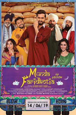 Munda Faridkotia 2019 Punjabi 480p WEB HDRip 400Mb x264