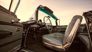 1959 Chevrolet Impala Convertible Interior