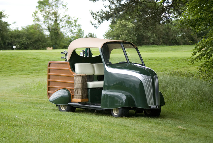 Just A Car Guy: the Woody Golf Buggy, designed by Lord March ... Woody Golf Cart Beach on box cart, 2002 chrysler gem cart, car cart,