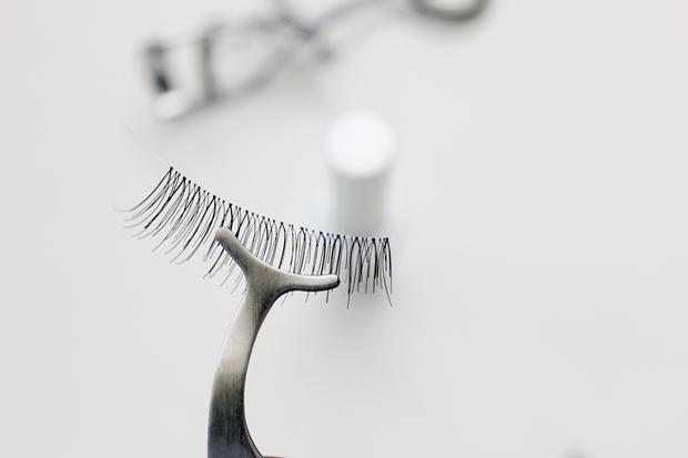 Como colocar cílios postiços - Pinça para cílios postiços Rosegal