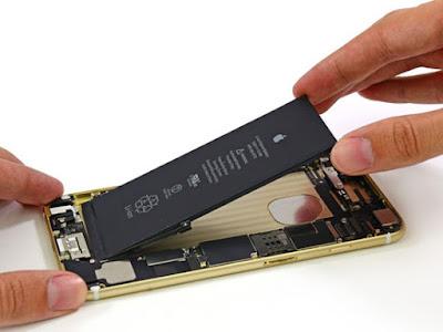 Thay pin iphone 6 chinh hang