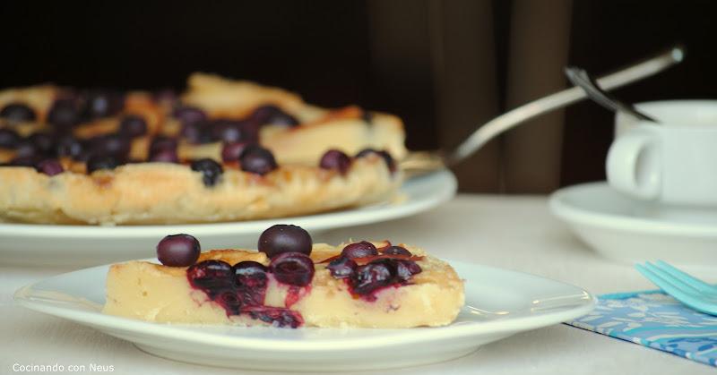 Pastel de manzana y arándanos-cocinando-con-neus