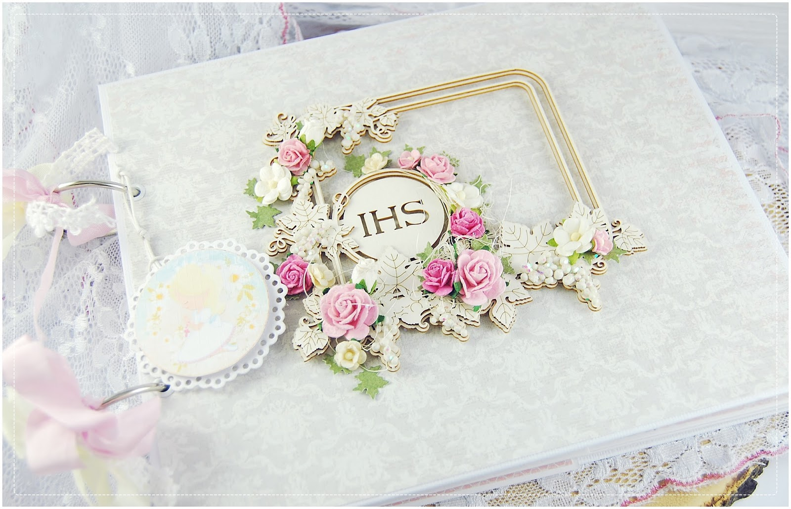 Wild Orchid Crafts Holy Communion Album