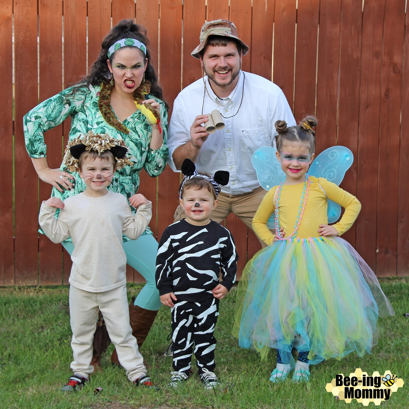 family costume theme, safari costume, zoo costume, animal costume, DIY  costume,