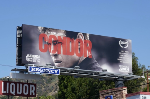 Condor series launch billboard