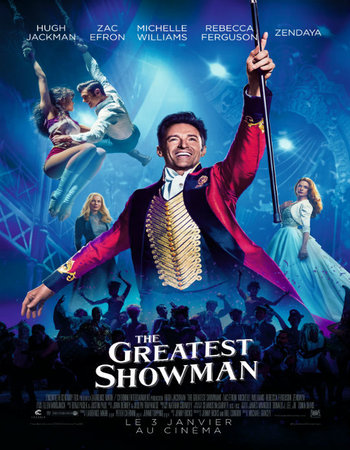 The Greatest Showman (2017) English 720p WEB-DL