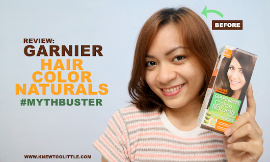 Garnier - Color Naturals Cream Nourishing Permanent Hair Color #Mythbuster