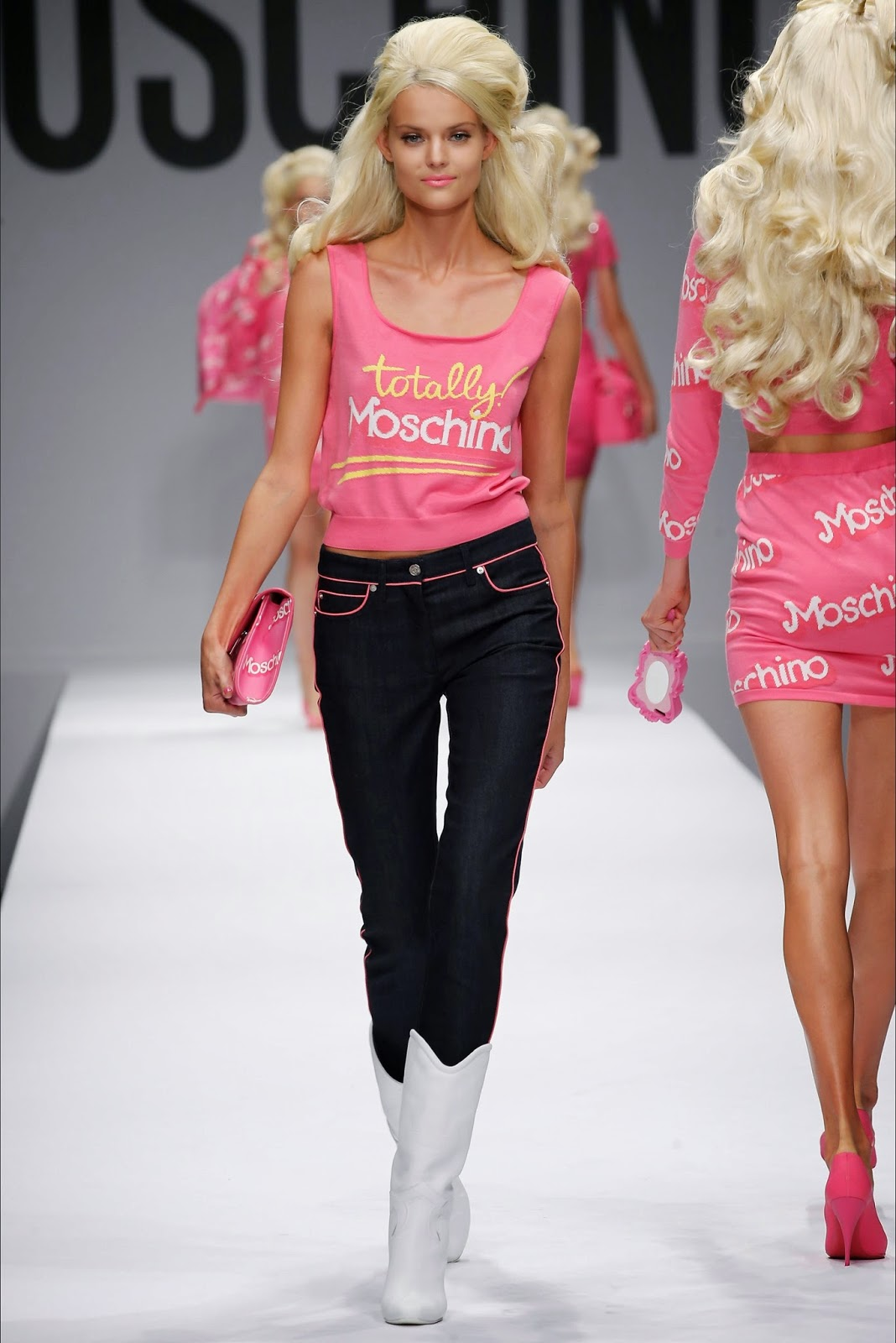 MOSCHINO FOR BARBIE COLLECTION FW 14 15  68b6542a2a3