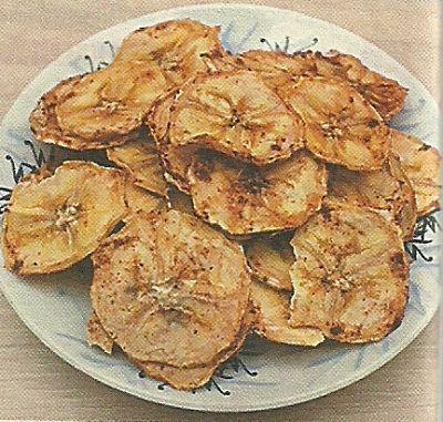 Необходимые продукты и как готовить банановые чипсы