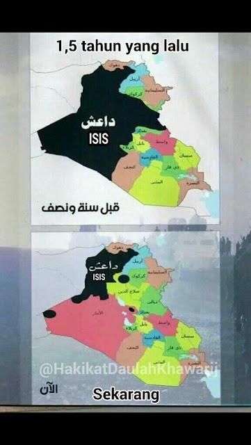 Kehilangan banyak wilayah di tangan musuh, ISIS merangsek ke arah kota-kota Mujahidin