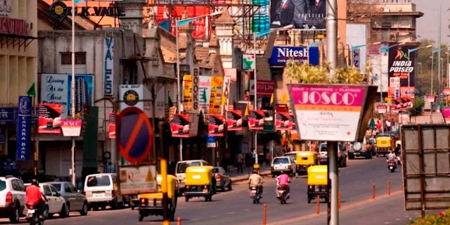MG Road or Main Street - Romantic Places in Pune
