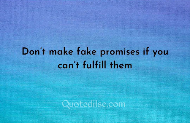 fake love quotes for him