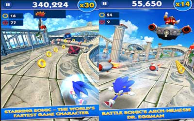 Download Game Sonic Dash APK Version 3.5.0.Go