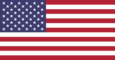 Logo Gambar Bendera Negara Amerika Serikat PNG JPG ukuran 400 px