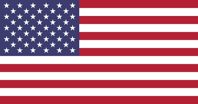 Logo Gambar Bendera Negara Amerika Serikat PNG JPG ukuran 800 px