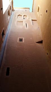 Interior de la Kasbah Taourirt