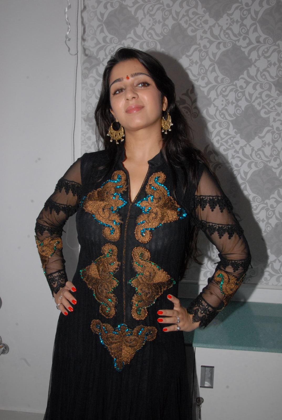 splendid hot winning Charmi new gorgeous pics at cosmetology clinic launch