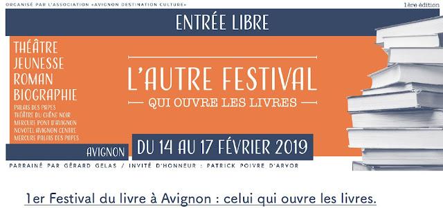 Festival du livre d'Avignon