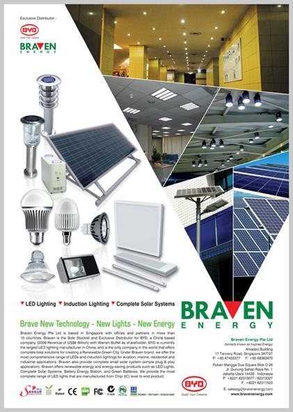 Kumalasari Portfolio Design: LED LIGHTINGS, ENERGY & SOLAR SYSTEM