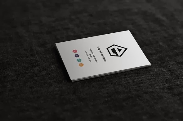 MOCK-UP BUSINESS CARD