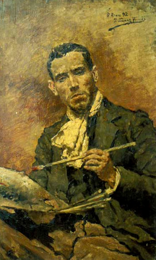 José López Tomás, Portraits of Painters, Self Portraits, Fine art