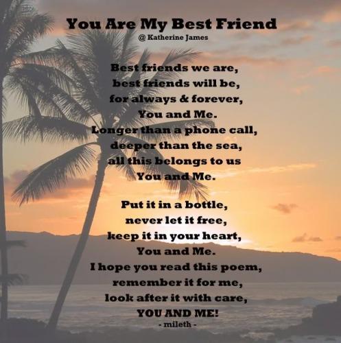Best Guy Friends Forever Poems 10