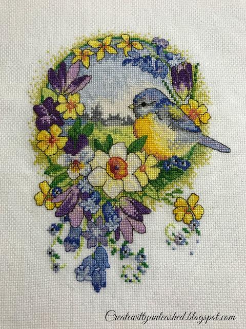 Blue tit cross stitch collection 2013