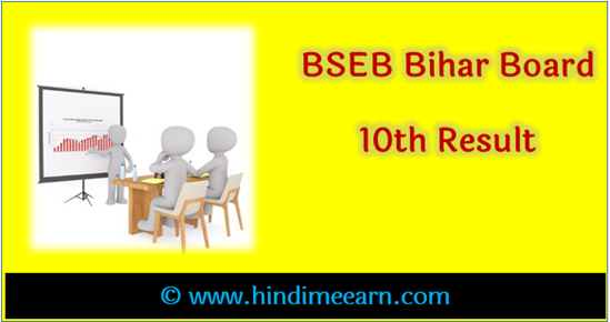 Bihar Board 10th Result date with Date sheet