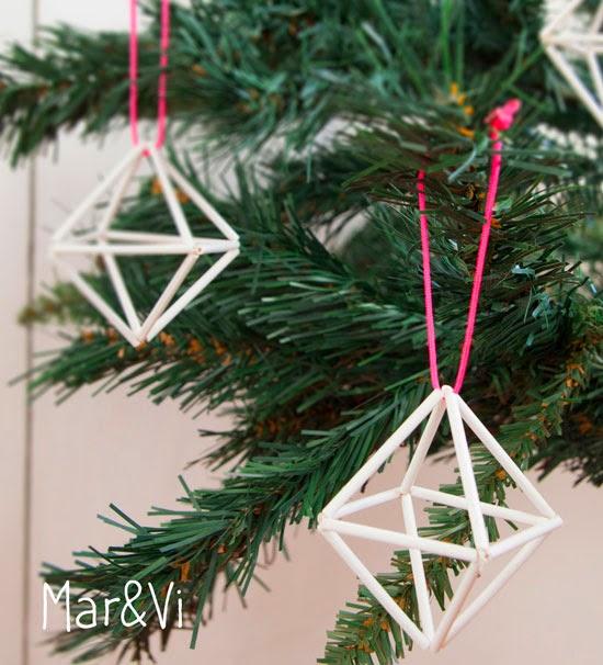 decorazioni di Natale in stile nordico fai da te