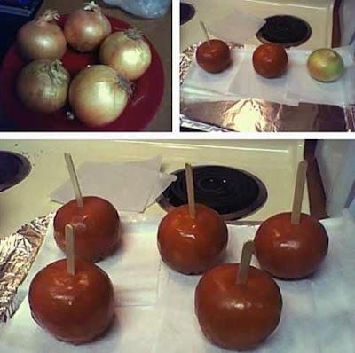 Lustige Bilder witzige Kochideen mit Zwiebeln zum lachen