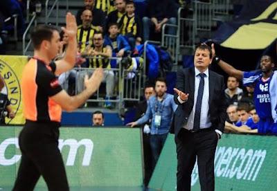 Ergin Ataman Fenerbahçe Doğuş - Anadolu Efes
