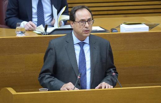 Soler: 'Estamos en el nivel más alto de gasto social de la historia de la Generalitat con 12.762 millones, 2.000 más de los que destinaba el anterior Consell'