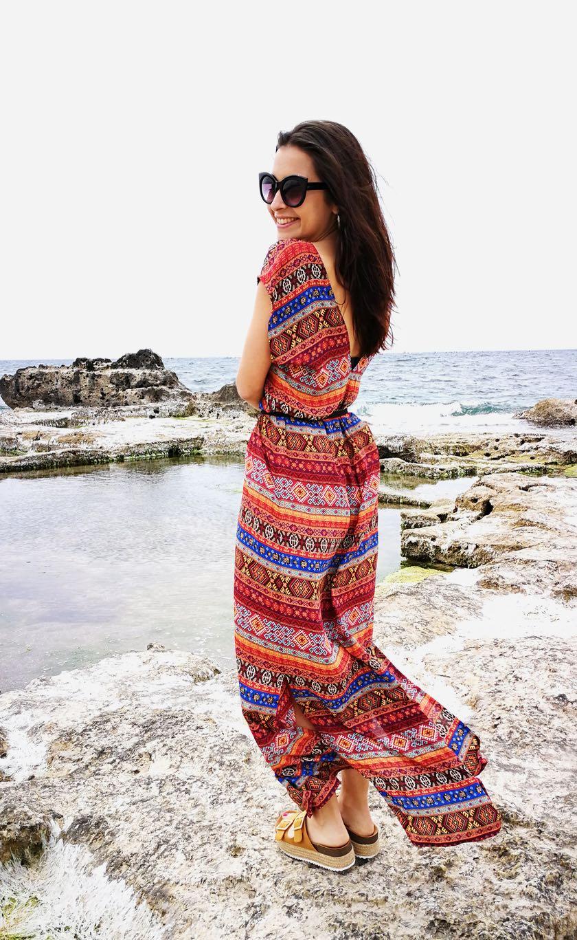 Cómo hacer un maxi-vestido | Verano 2018