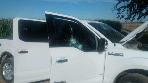AL MOMENTO; Con lobo blindada sicarios se topan a Militares en Guasave y se enfrentan