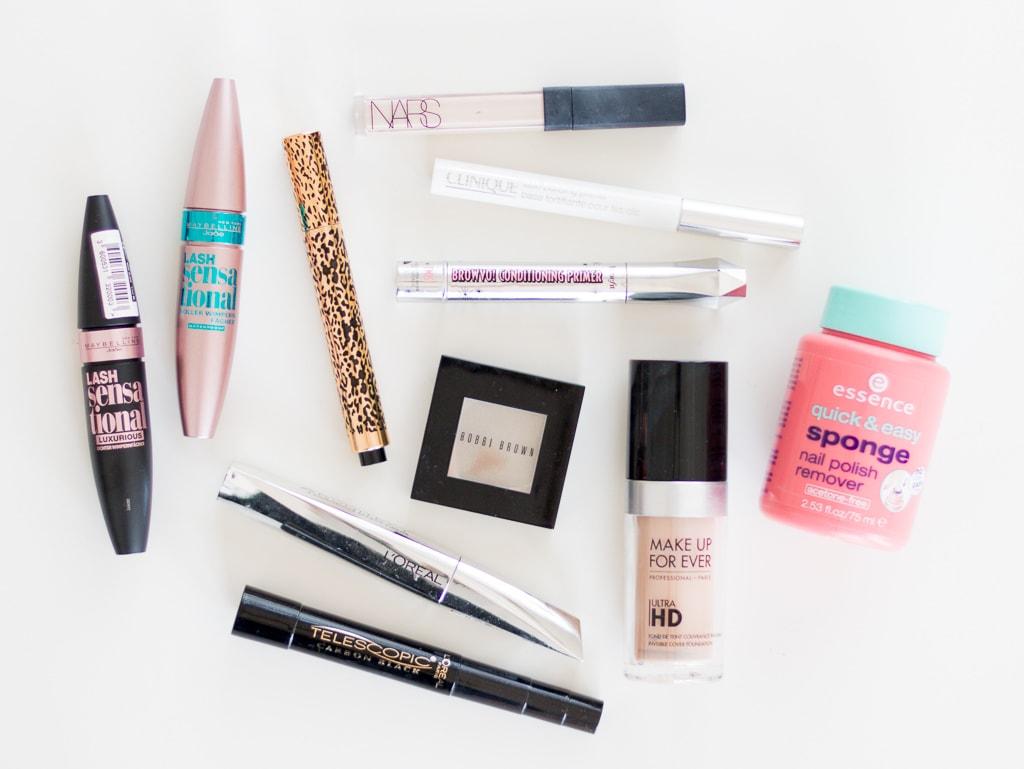 Aufgebrauchte Kosmetikprodukte Juni 2017 Dekorative Kosmetik
